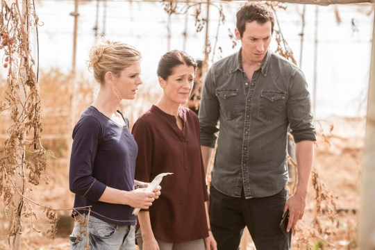 WARNING: Embargoed for publication until 00:00:01 on 24/01/2017 - Programme Name: Silent Witness S20 - TX: n/a - Episode: Awakening Part 1 (No. n/a) - Picture Shows: Nikki Alexander [EMILIA FOX], Eva (RAQUEL CASSIDY), Jack Hodgson [DAVID CAVES] - (C) BBC - Photographer: Gary Moyes