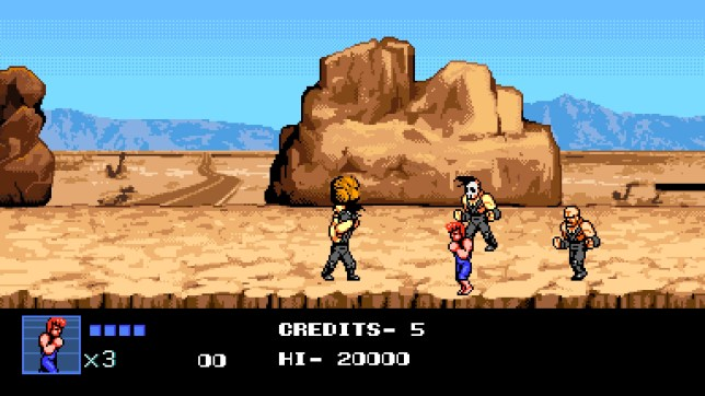 Double Dragon IV (PS4) - it plays as bad as it looks