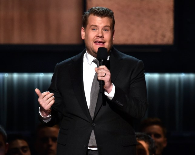 James Corden is presenting The 59th Annual GRAMMY Awards on Sunday (Picture: Kevin Winter/WireImage)