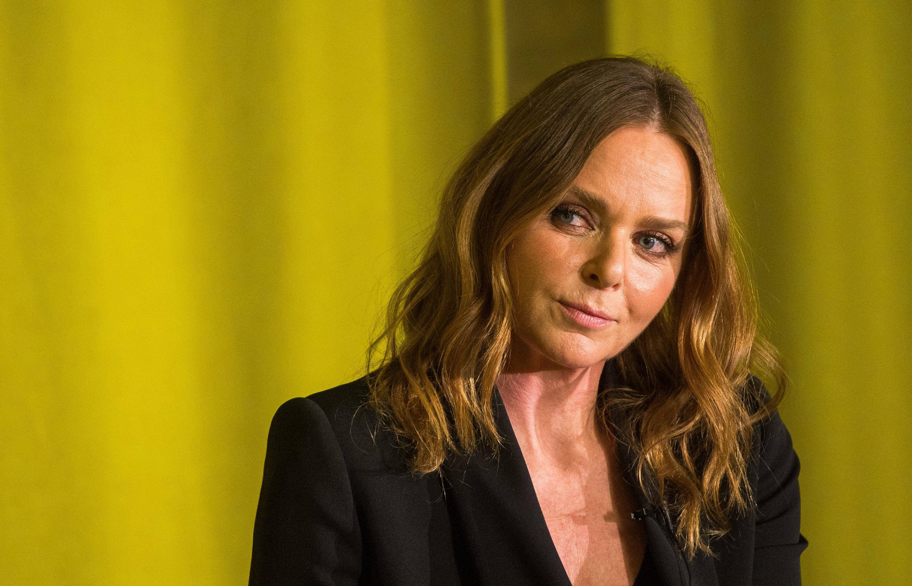 Stella McCartney apologises for driving into the back of a taxi