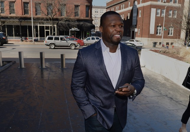 "HARTFORD, CT - MARCH 09: (EDITORS NOTE: Retransmission with alternate crop of image number 514494516.) Curtis Jackson, also known as 50 Cent, makes an appearance at bankruptcy court on March 09, 2016 in Hartford, Connecticut. Jackson filed for bankruptcy one year ago and is now being asked to explain Instagram photos, including one of him next to piles of cash arranged to spell out ""broke."" (Photo by Steve Miller/Getty Images)"