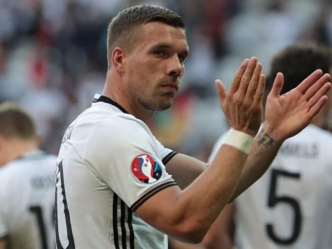 Ex-Arsenal man Lukas Podolski set for move to Japan