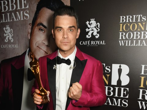 Brit Awards 2017: Robbie Williams says he's 'devaluing the brand' winning the Global Icon award