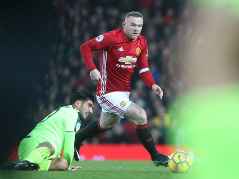 Manchester United's Wayne Rooney is genuinely among the fastest footballers in the world