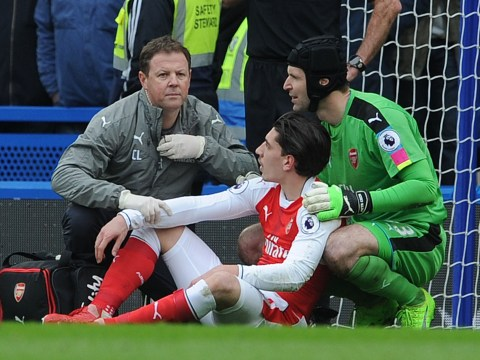 Arsenal boss Arsene Wenger concerned about attitude to head clashes after Hector Bellerin injury