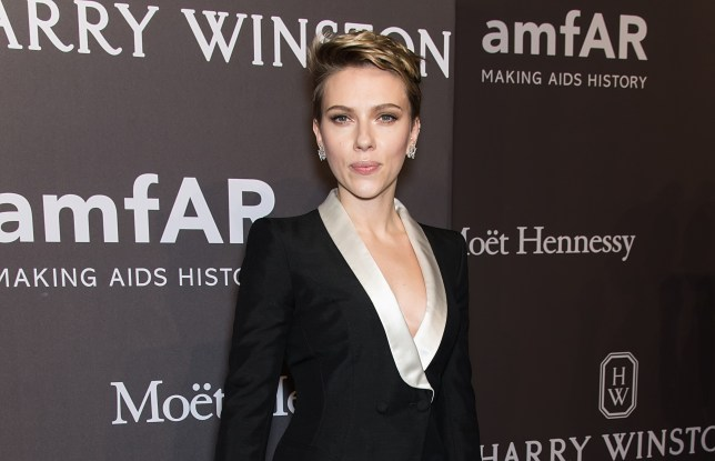 NEW YORK, NY - FEBRUARY 08: Actress and honoree Scarlett Johansson attends 19th Annual amfAR New York Gala at Cipriani Wall Street on February 8, 2017 in New York City.