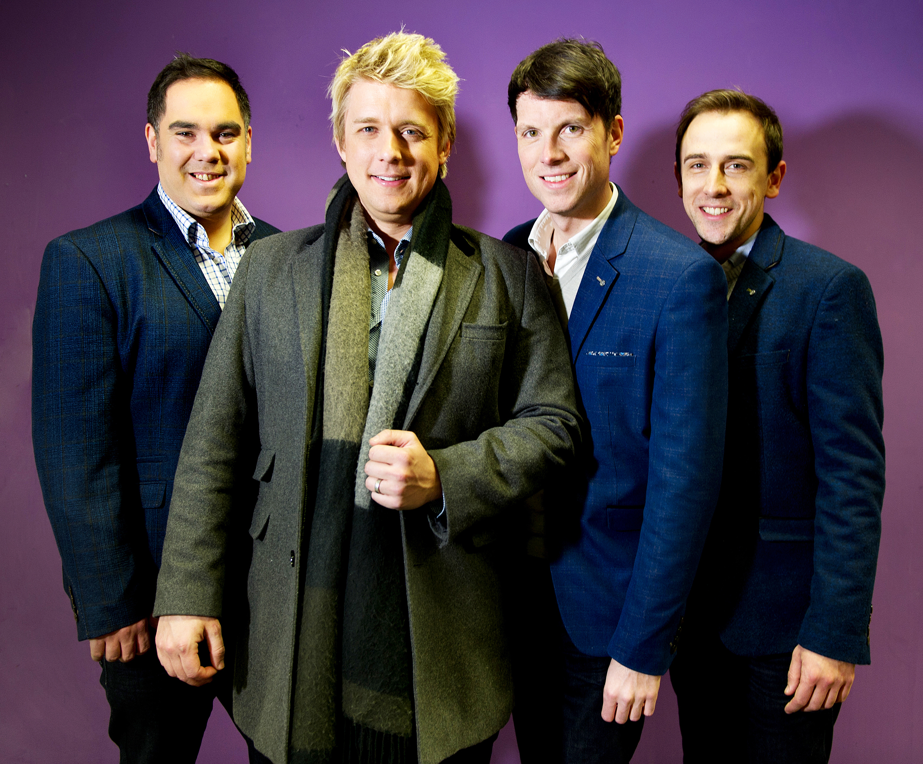 G4 singers Mike Christie and Jonathan Ansell 'very shaken' after Birmingham assault