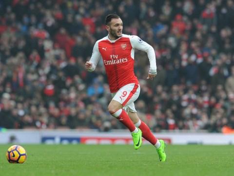 Arsenal striker Lucas Perez in transfer u-turn, according to his agent