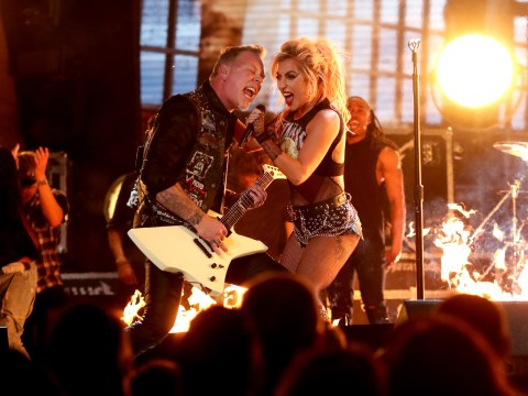 Grammys 2017: Lady Gaga and Metallica soldiered on through awkward technical issues