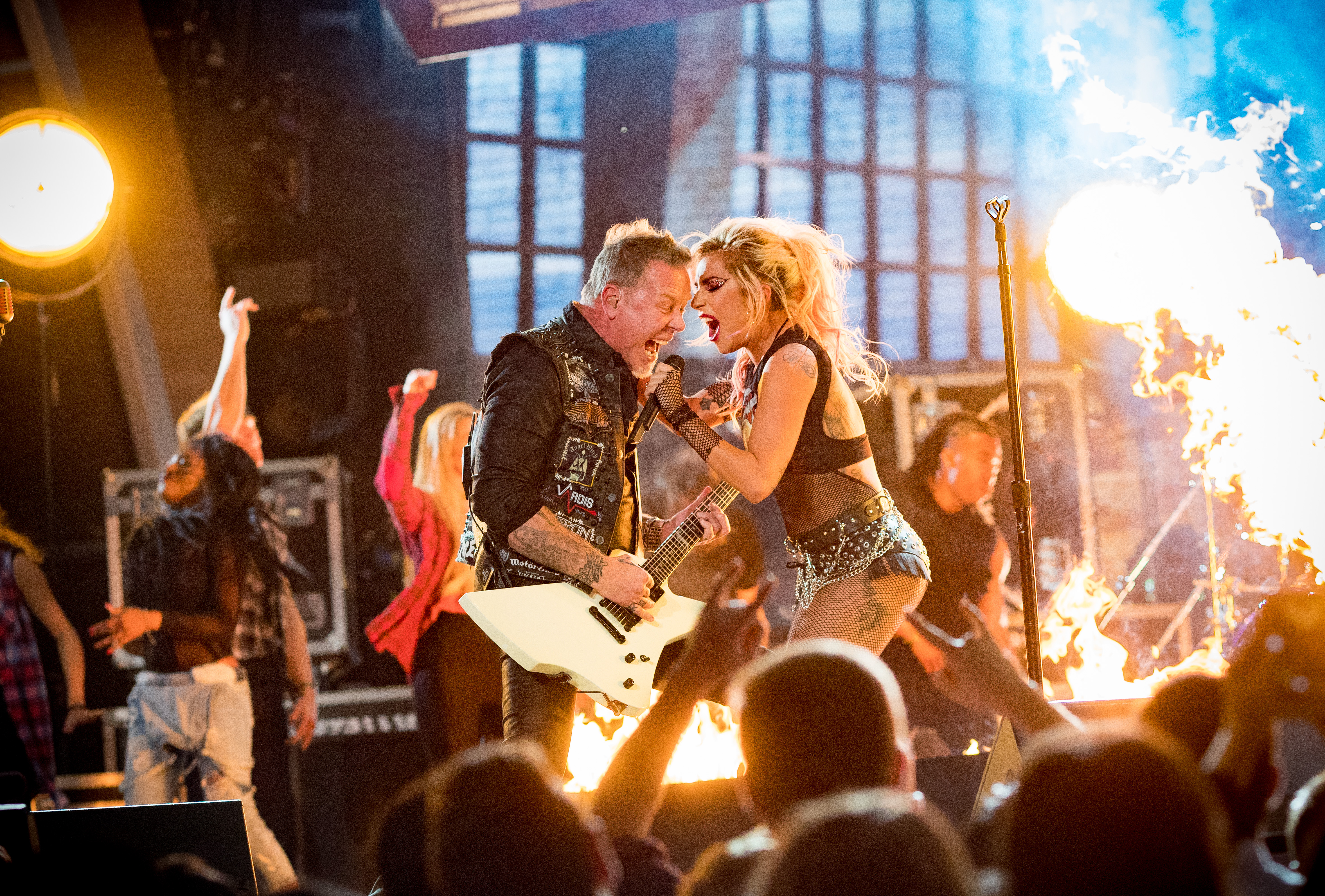 Metallica confirm their Grammys duet with Lady Gaga was 'too real' to not continue