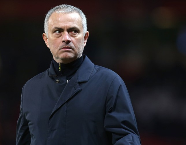 MANCHESTER, ENGLAND - FEBRUARY 16: Manager Jose Mourinho of Manchester United walks off after the UEFA Europa League Round of 32 first leg match between Manchester United and AS Saint-Etienne at Old Trafford on February 16, 2017 in Manchester, United Kingdom. (Photo by Matthew Peters/Man Utd via Getty Images)