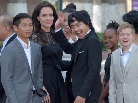 Angelina Jolie's son Maddox lands a tidy first job as a film producer