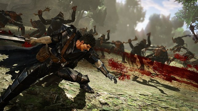 Berserk And The Band Of The Hawk (PS4) - Guts must be raging about this