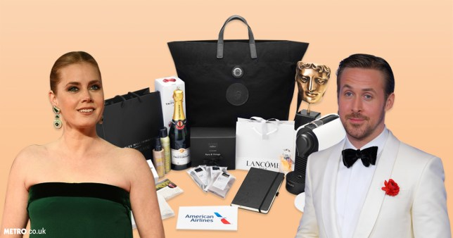 The gifts in the official BAFTAs official nominees gift bag has been revealed (Picture: BAFTA/Getty)