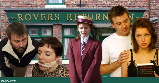As Helen Flanagan returns to Coronation Street: Rosie Webster's 5 most memorable storylines Credit: REX/PA