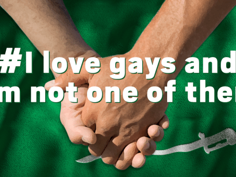 Pro-LGBT hashtag 'I love gays' is trending in Saudi Arabia, where homosexuality is illegal