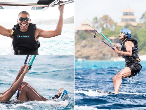 Barack Obama kite surfing makes us realise he was the coolest President that ever lived