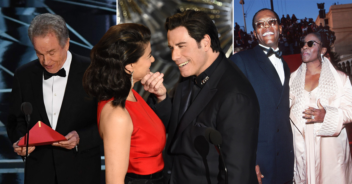 Best Oscars gaffes Credit: AFP/Getty Images