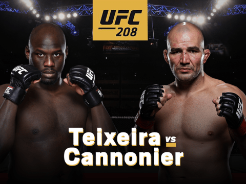 UFC 208 Potential Fight of the Night: Glover Teixeira versus Jared Cannonier