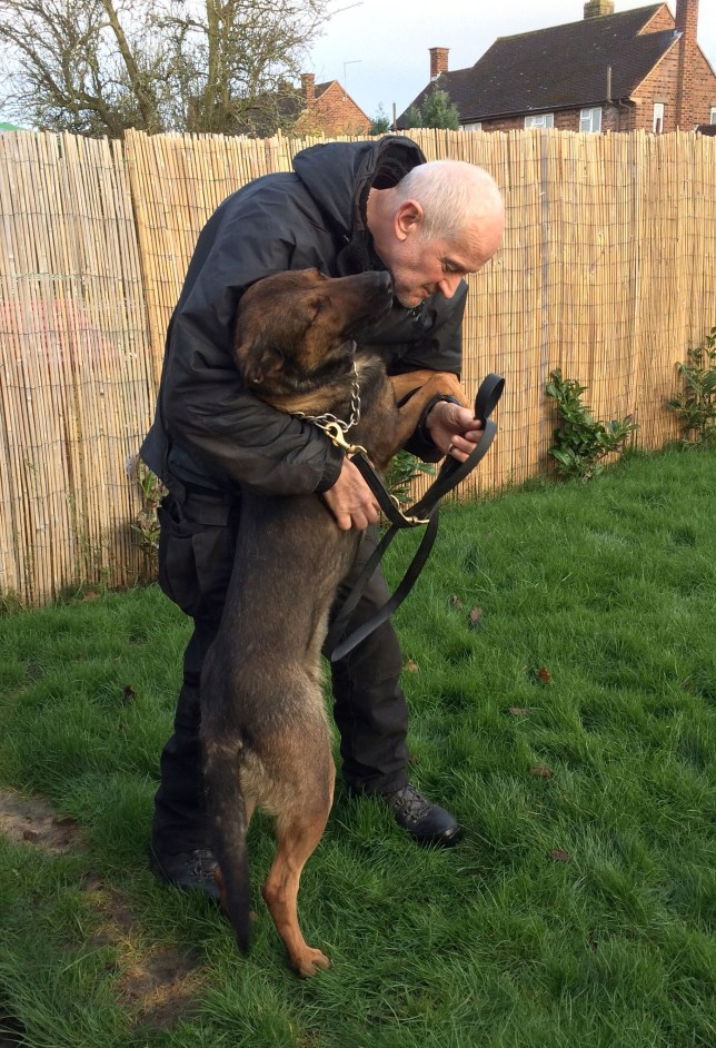 Petition started so retiring dog handler can keep his police dog when he stops working
