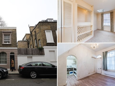 One of London's smallest homes on sale for £600,000