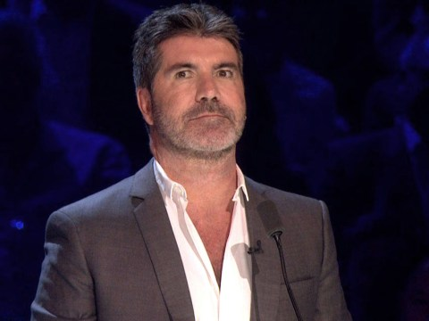 Simon Cowell terrified by a bunch of clowns at Britain's Got Talent audition