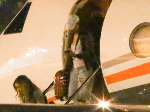 Kim Kardashian's private jet searched by immigration officials following Donald Trump order