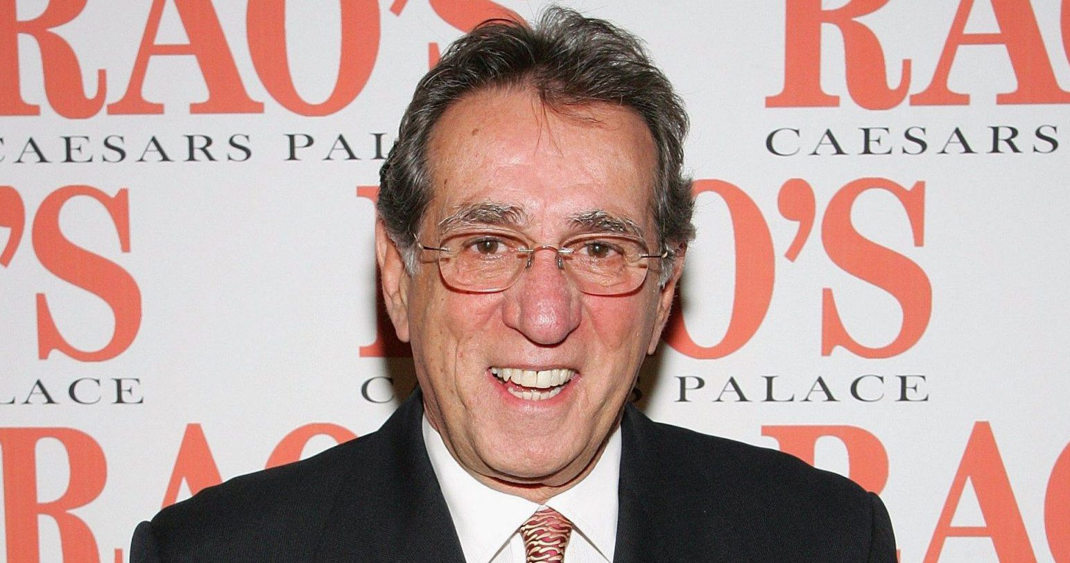 """FILE - JANUARY 31: Actor/restaurateur Frank Pellegrino, known for his work on """"The Sopranos"""" and """"Goodfellas"""", has passed away following a battle with lung cancer. He was 72 years old. LAS VEGAS - JANUARY 11: Rao's co-owner Frank Pellegrino Sr. arrives at the grand opening party for Rao's at Caesars Palace January 11, 2007 in Las Vegas, Nevada. (Photo by Ethan Miller/Getty Images for Caesars)"""