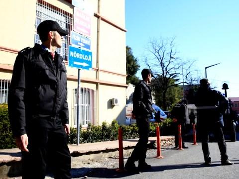 Gunman barricades himself inside hospital in Turkey
