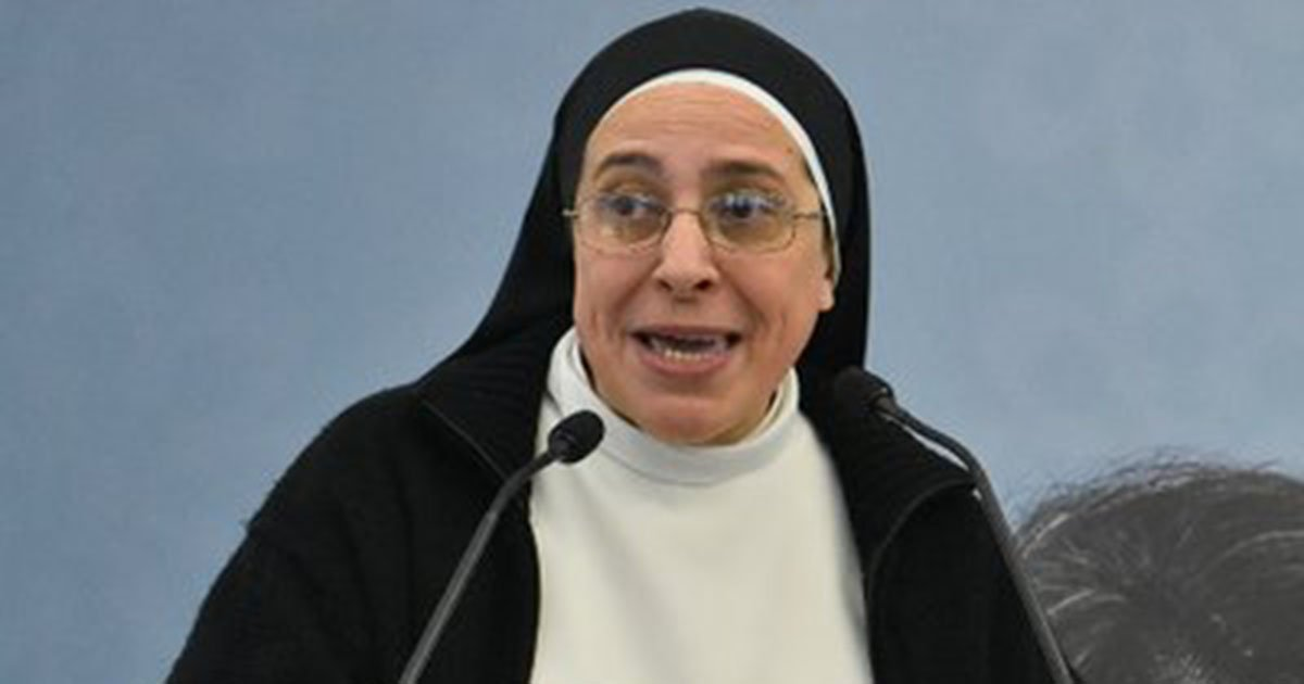 Spanish nun gets death threats after saying Mary likely wasn't a virgin (Twitter/Lucia Caram)