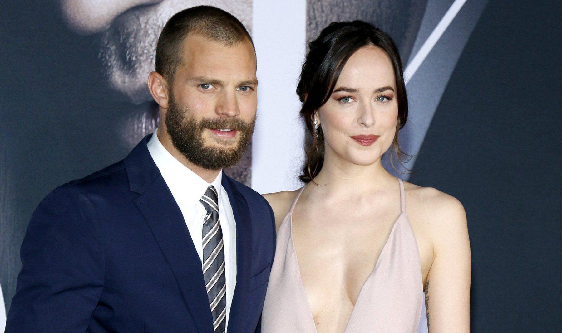 Dakota Johnson describes her Fifty Shades Darker co-star Jamie Dornan as her 'dream partner'