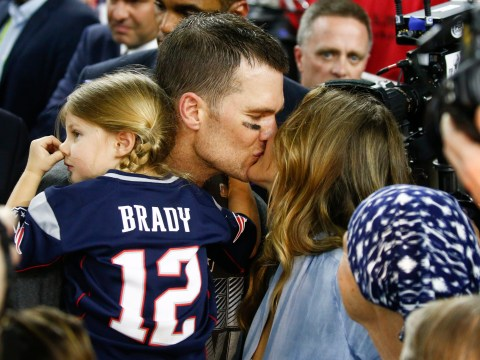 Gisele Bundchen's reaction to husband Tom Brady and New England Patriots winning the Super Bowl is gold
