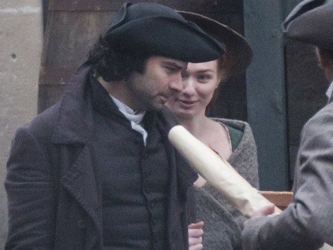 Poldark and Demelza look happier than ever as season 3 filming cracks on in Somerset