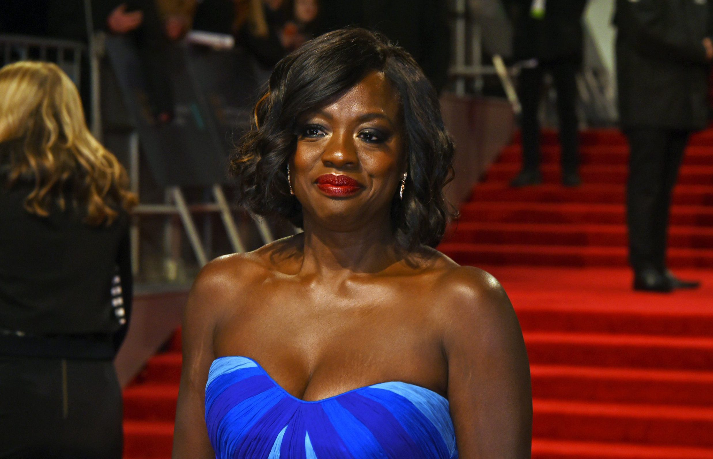 BAFTAs 2017: Viola Davis says being in the UK is like being 'invited to the best party'