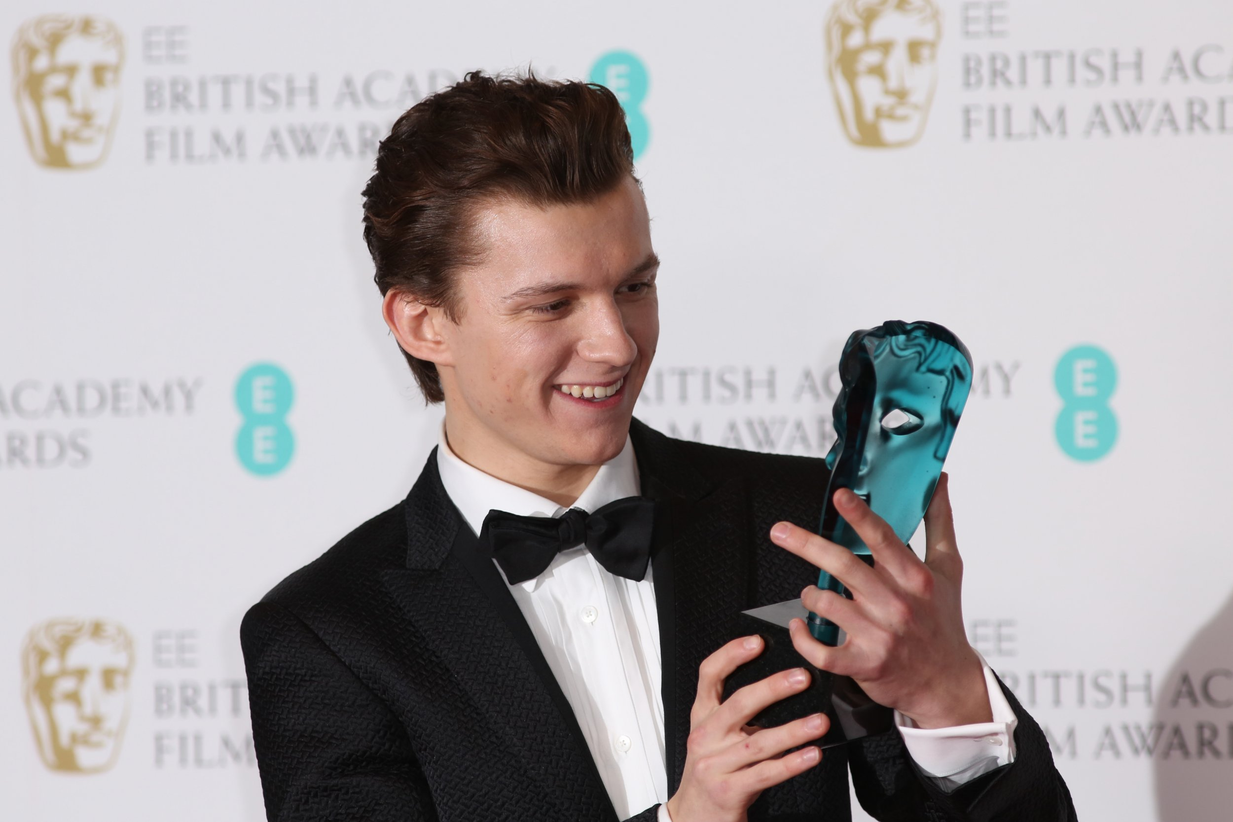 EE BAFTA Rising Star winner Tom Holland reveals who he voted for to win