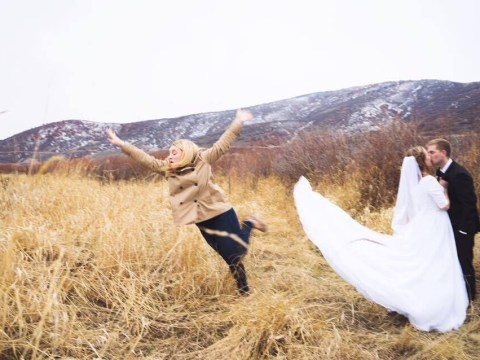 This semi-professional bridesmaid is a hero to every single woman out there