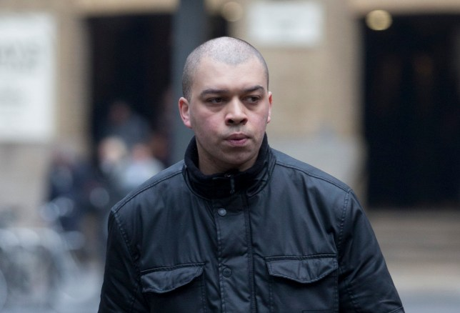 Date: 14/02/17 PH: Nick Edwards Pictured: Colin Leacock Caption: Trial of Colin Leacock is taking place at Southwark Crown Court in Central London. Colin Leacock accused of raping and beating up woman he met on match.com. Colin Leacock denies two counts of rape and two of assault causing actual bodily harm