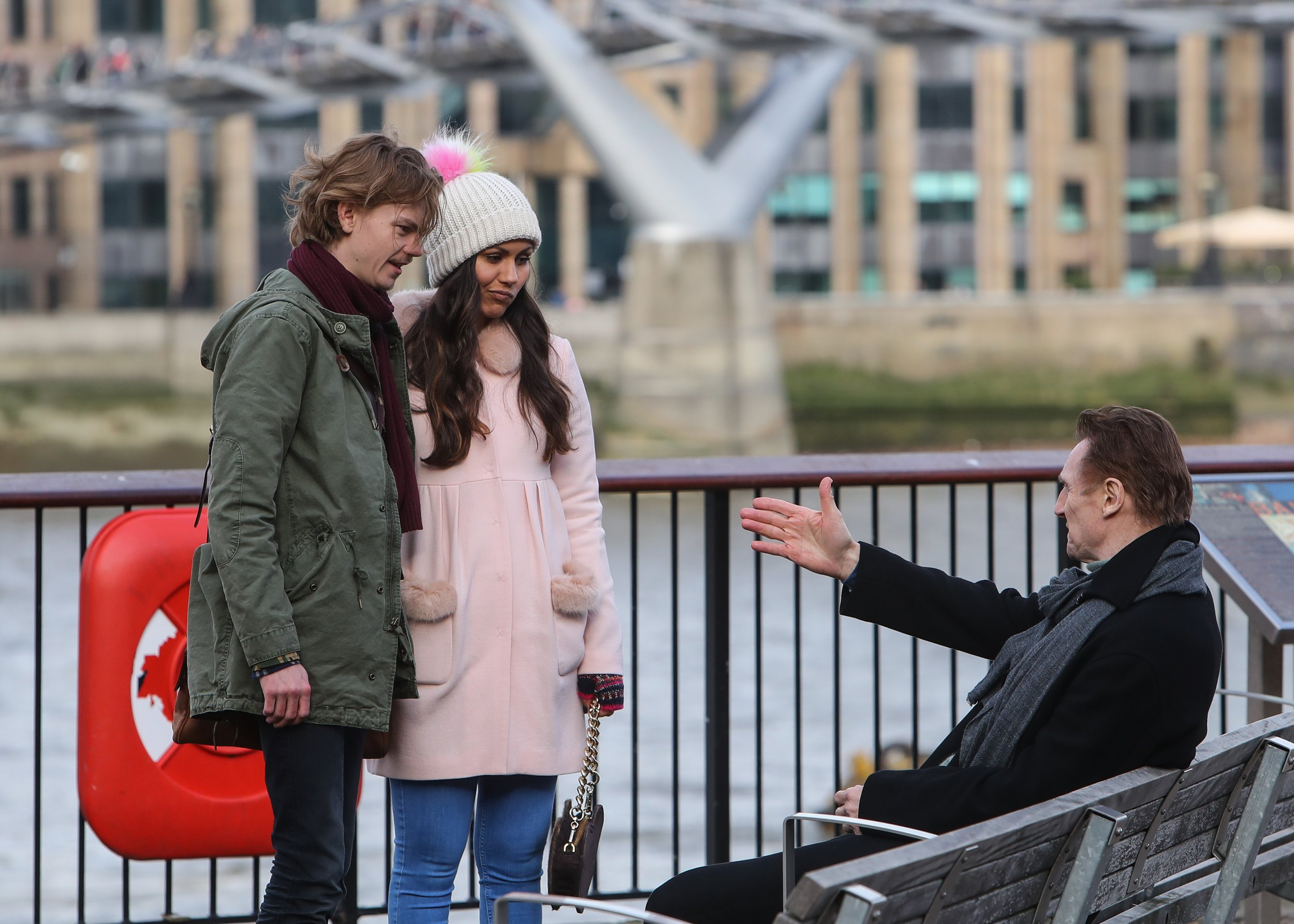 Do these photos prove that young romantic Sam is still with Joanna in the Love Actually sequel?