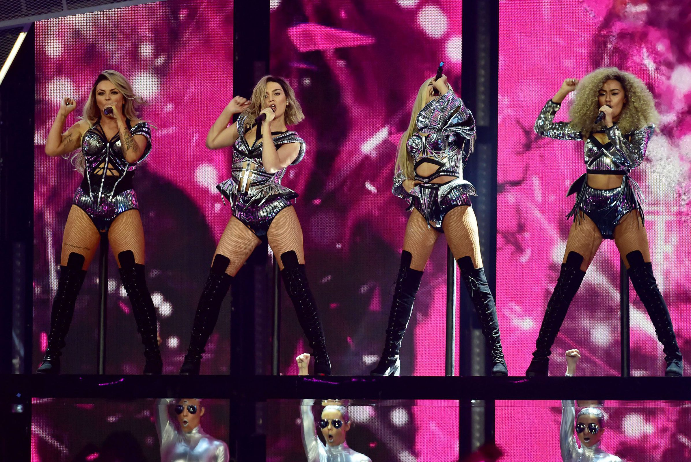 'Don't ever be afraid': Little Mix dedicate song to LGBTQ fans after U.S. gig