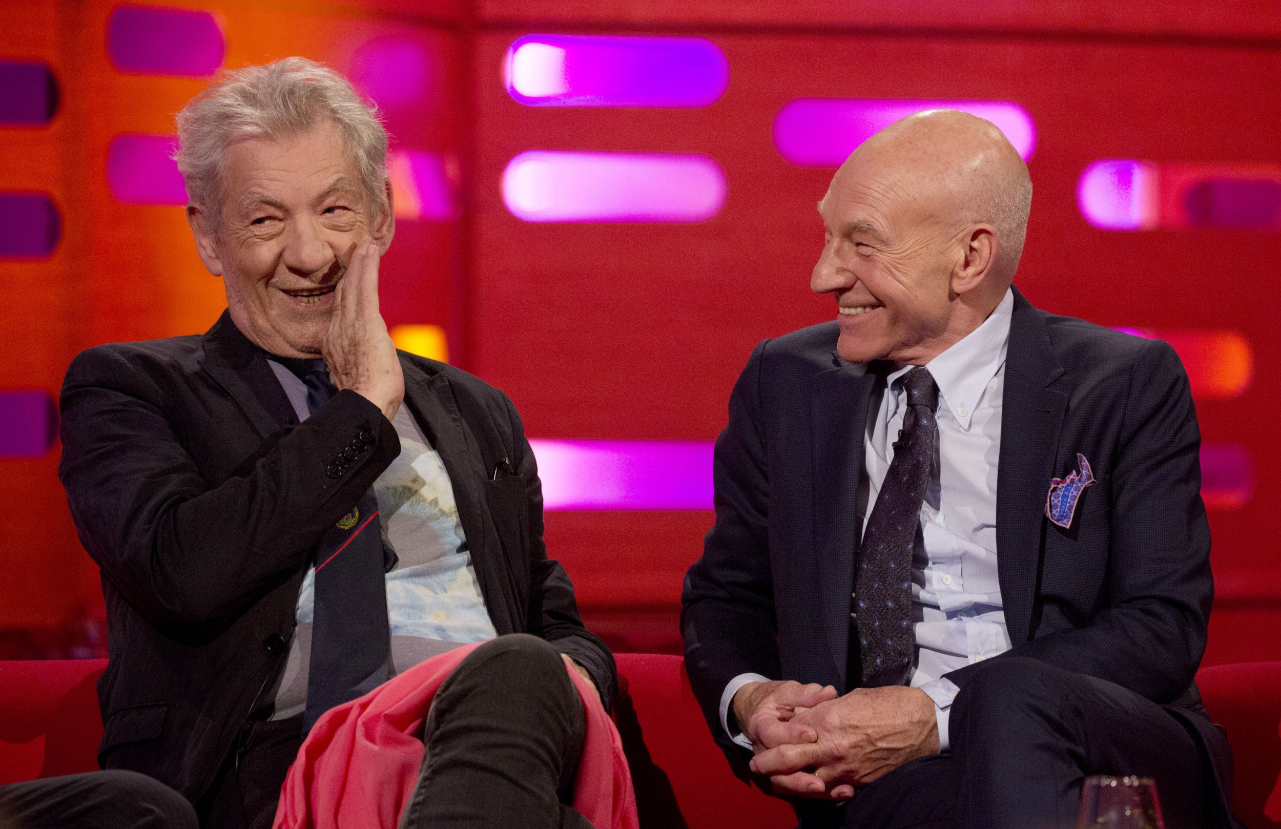 Sir Ian McKellen reckons it's time Sir Patrick Stewart's X-Men character was killed off