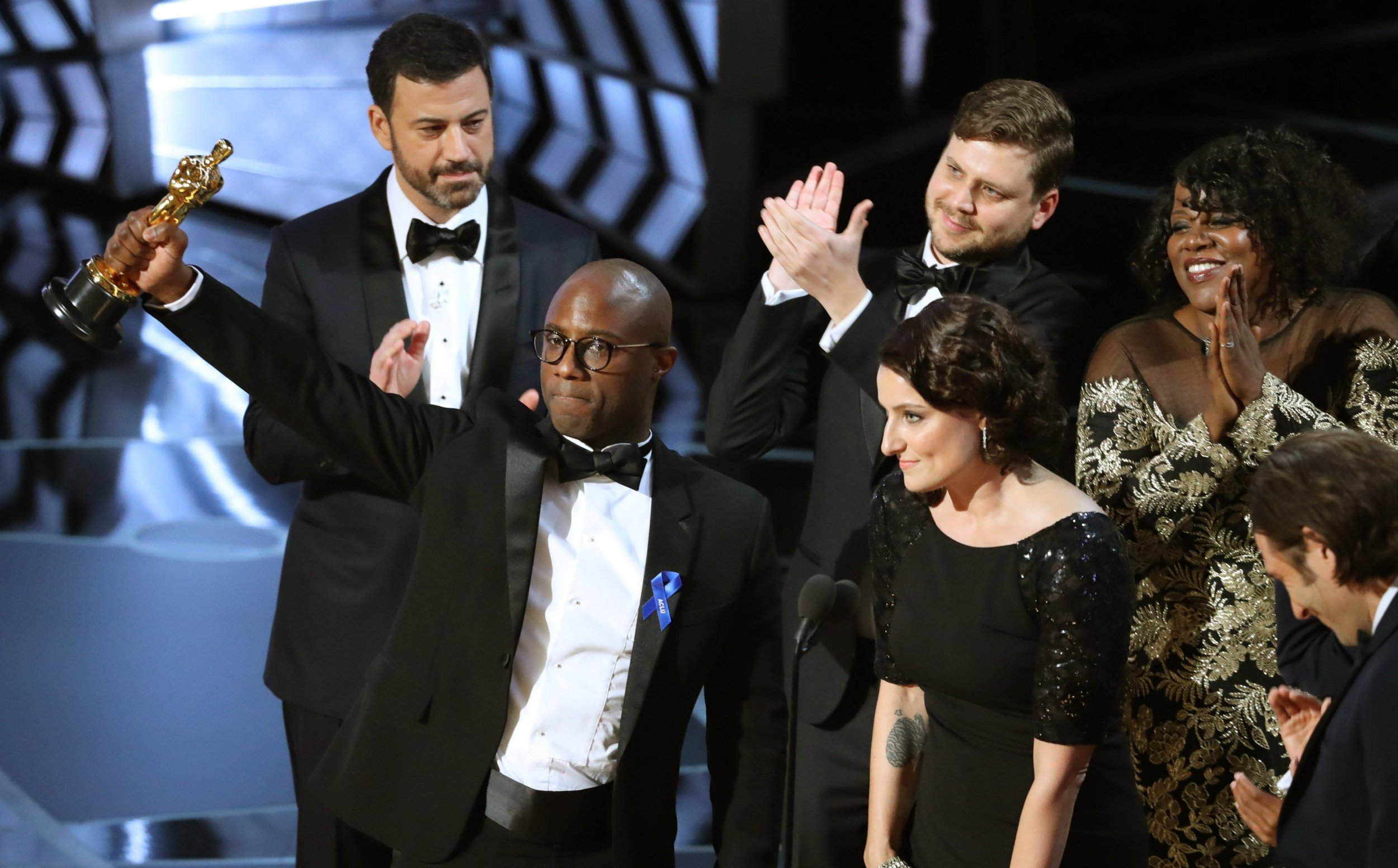 Victory for Moonlight! Shame hardly anyone knew the Oscars' Best Picture nominees