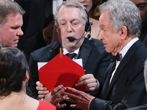 PricewaterhouseCoopers apologise for Oscars mess up and admit Warren Beatty got given the wrong envelope