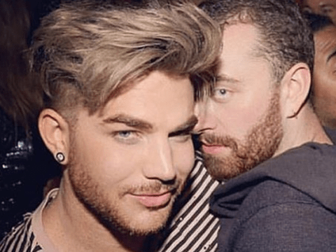 Adam Lambert laughs down rumours he was dating Sam Smith