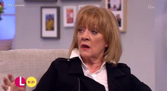 Amanda Barrie dropped a swear word on This Morning (Picture: ITV)