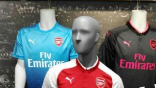 6a2009bd51f Arsenal kits for 2017 18 season  leaked  and the away strip is unlikely to  please fans