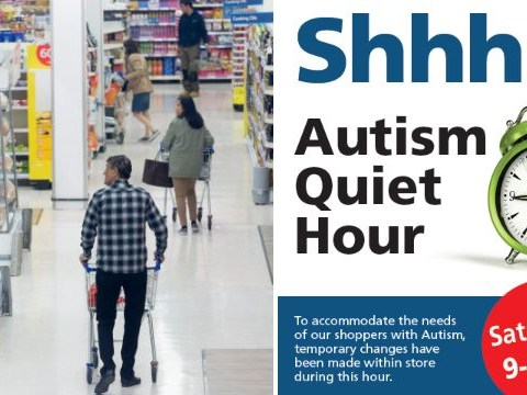 Tesco trials 'quiet hour' to make shopping easier for people with autism