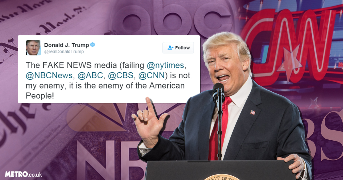 People are telling Donald Trump that journalists are #NotTheEnemy