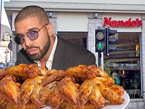 Drake spends over £500 at Nando's after his gig in Leeds and earns our total respect