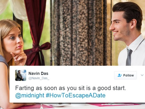 Twitter users reveal the best ways to escape a date just in time for Valentine's