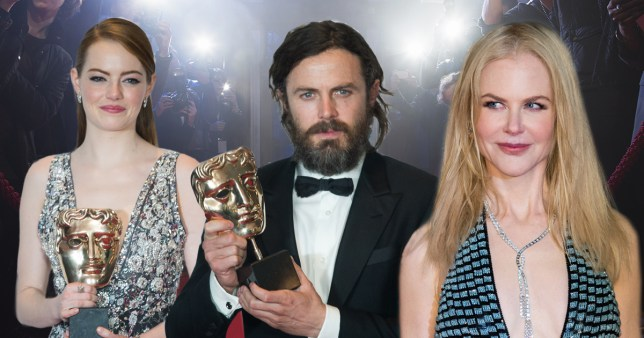 ?? things which happened on the BAFTA 2017 red carpet you (probably) didn't see
